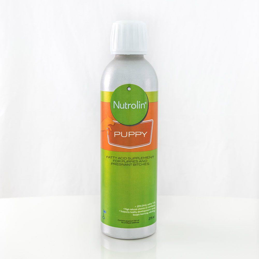 Nutrolin Puppy® – kosttillskott för valpens utveckling