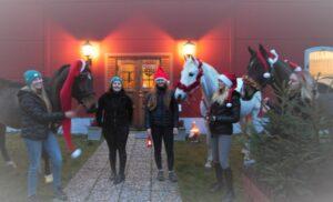 Julhälsning från Skånsta Ryttare